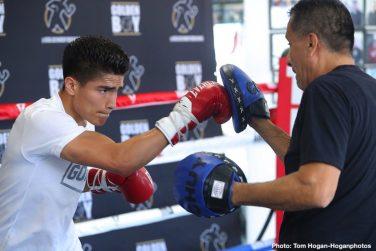 Diego De La Hoya Joet Gonzalez Rey Vargas Tomoki Kameda Press Room