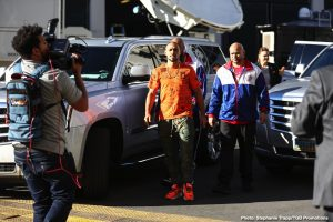 Bob Arum, Errol Spence Jr., Keith Thurman - Boxing News