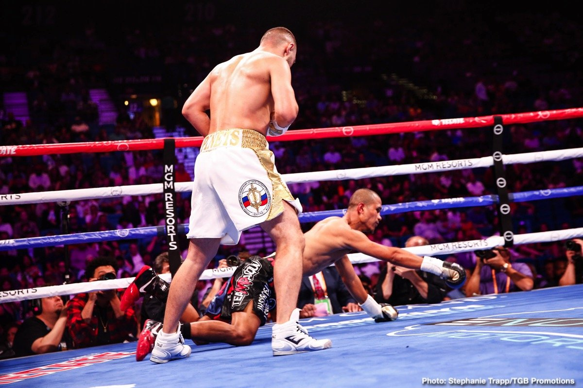 Kudratillo Abdukakhorov, Sergey Lipinets - Boxing News