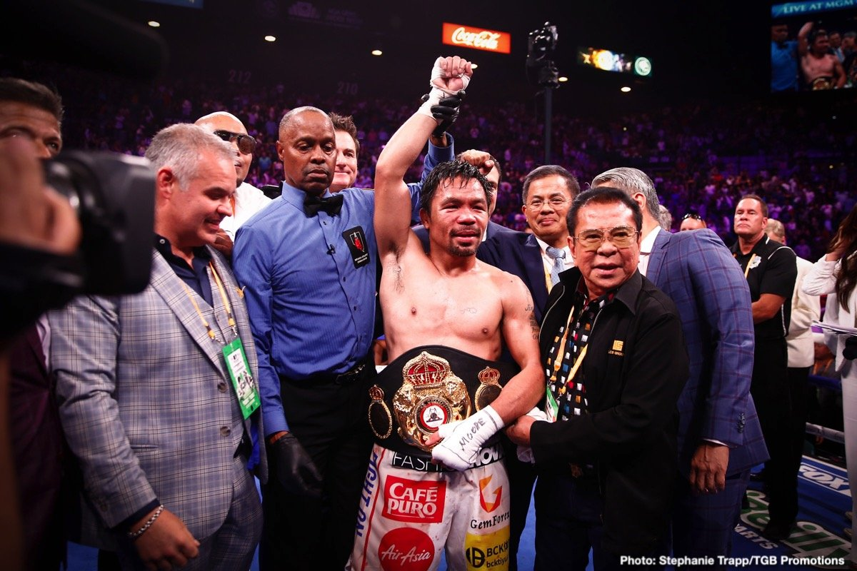 Manny Pacquiao, Mikey Garcia, Terence Crawford - Boxing News