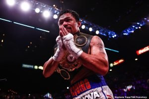 Manny Pacquiao To Announce His Next Fight And His Retirement At The Same Time