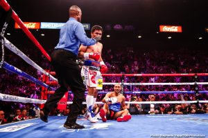 Pacquiao can shock Spence with his power – says Jessie Vargas