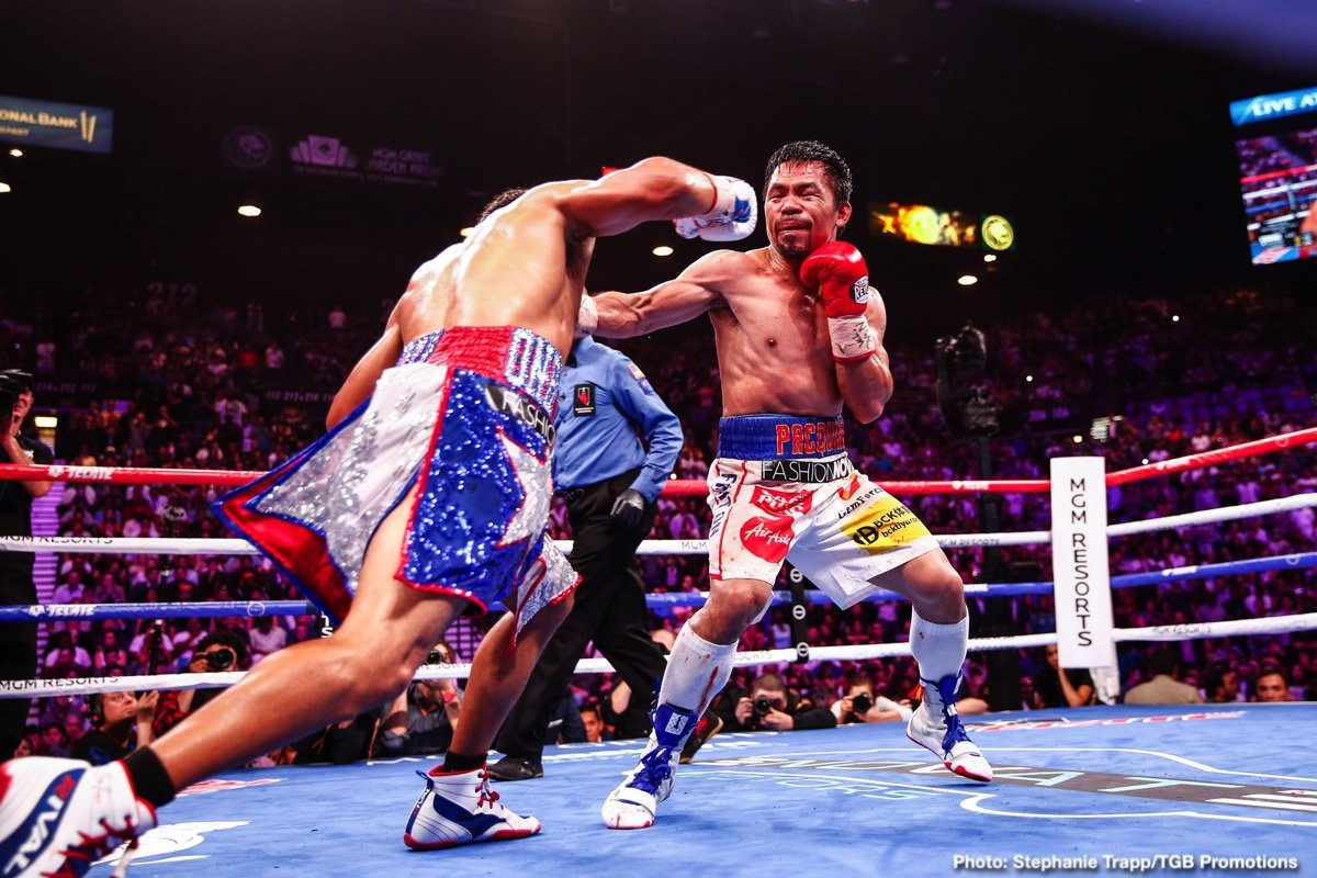 Manny Pacquiao, Terence Crawford - Boxing News
