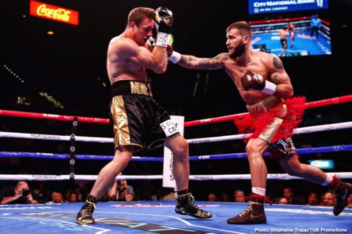 "Caleb Plant, Efe Ajagba, Mike Lee - The FOX PBC Fight Night main event on FOX and FOX Deportes saw IBF Super Middleweight World Champion Caleb ""Sweethands"" Plant (19-0, 11 KOs) retain his title with a dominant third-round knockout over previously unbeaten Mike Lee (21-1, 11 KOs)."