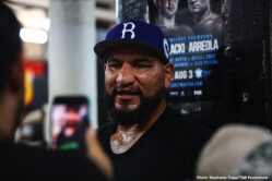 "Adam Kownacki, Chris Arreola, Jean Pascal, Marcus Browne - Undefeated Polish star and Brooklyn native Adam Kownacki and former heavyweight title challenger Chris ""The Nightmare"" Arreola showed off their skills at world famous Gleason's Gym on Wednesday as they near their main event showdown that headlines FOX PBC Fight Night this Saturday from Barclays Center, the home of BROOKLYN BOXING™."