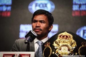Manny Pacquiao ready to return to the ring