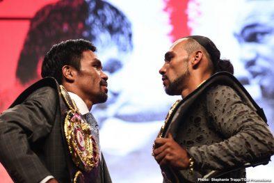 John Molina jr. Keith Thurman Luis Nery Manny Pacquiao Omar Figueroa Jr. Sergey Lipinets Yordenis Ugas Boxing News Top Stories Boxing
