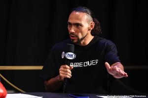 Thurman reached out to Arum for Crawford fight