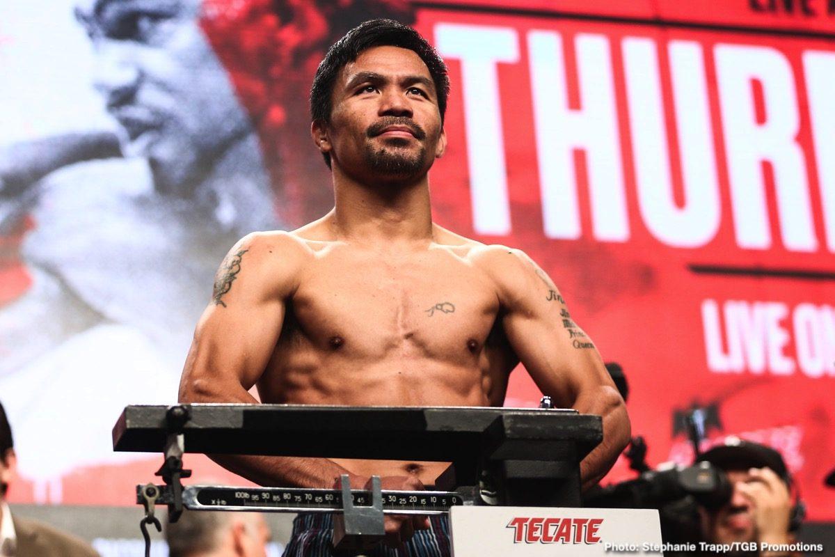 Joshua Clottey Manny Pacquiao Boxing News