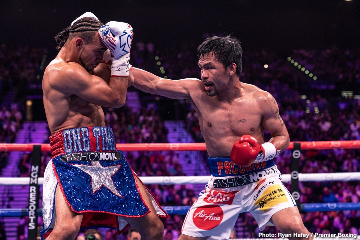 Manny Pacquiao - The great Manny Pacquiao has enjoyed long spells in everyone's pound-for-pound lists during his career, yet the 40 year old marvel has not been present for quite some time. Indeed, it wasn't all that long ago, July of 2017, when many a fan and boxing expert was forced to reach the sad conclusion that Pacquiao was close to the end, past his best in a big way and no longer an elite operator.