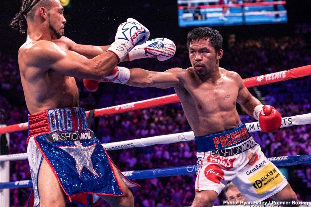 Bob Arum, Errol Spence Jr., Manny Pacquiao - Boxing News