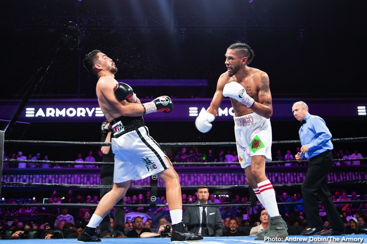 "Jamal James -  Welterweight contender and Minneapolis-native Jamal ""Shango"" James defeated former world champion Antonio DeMarco by unanimous decision Saturday in an exciting action fight that headlined FS1 PBC Fight Night and on FOX Deportes from The Armory in Minneapolis."
