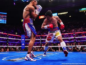 Mikey Garcia - There is a good chance superstar Manny Pacquiao will return to the ring quite early next year, in March or maybe April. Pacquiao has spoken of how the senate in the Philippines will be on break during this time, thus he will be free to fight. Pac Man turns 41 next month, yet judging by his last two ring performances – against Adrien Broner, who he came close to shutting-out in January, and against Keith Thurman, who Pacquiao won a much closer decision over in July – the all-time great is not slowing down.