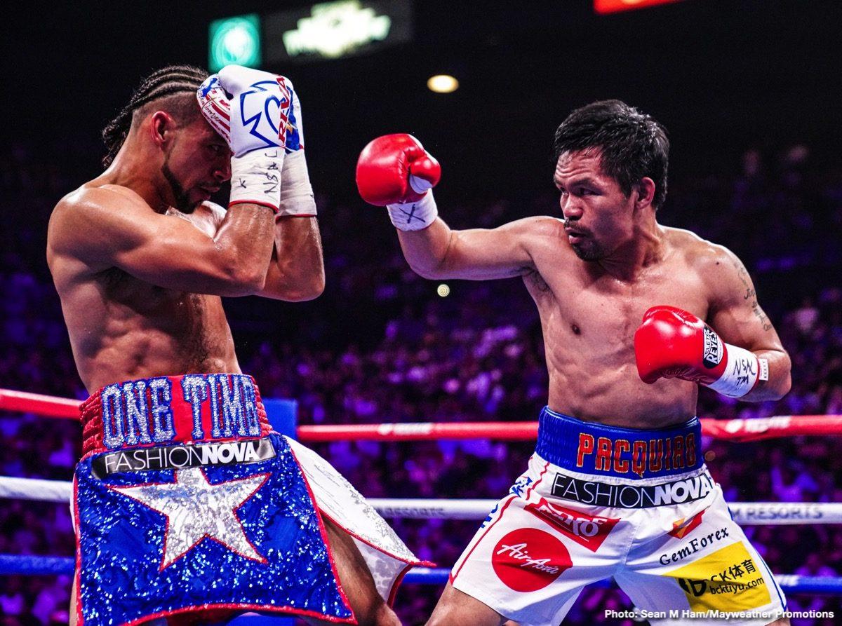 Errol Spence Jr., Gilberto Mendoza, Manny Pacquiao, WBA, Yordenis Ugas - Boxing News