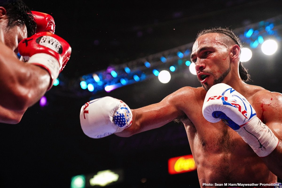 Bob Arum, Errol Spence Jr., Keith Thurman - Boxing News