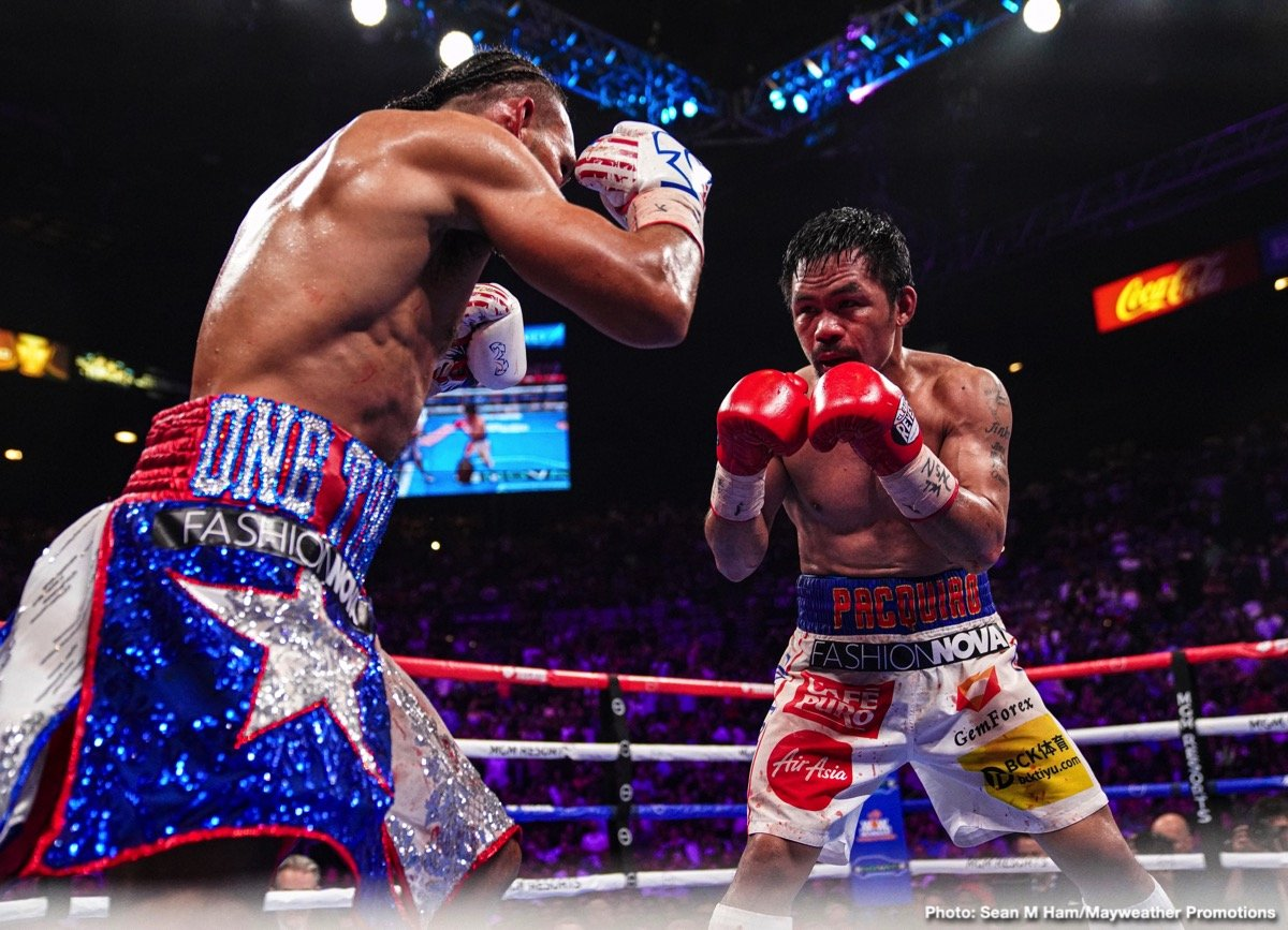 Buboy Fernandez, Manny Pacquiao, Terence Crawford - Boxing News