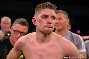 Canelo Alvarez, Jason Quigley - Irish fighter Jason Quigley (18-1, 14 K.O.s) has been offered the September 12 fight against superstar Canelo Alvarez (53-1-2, 36 K.O.s) by Golden Boy Promotions. Quigley, 29, has already agreed to the battle, and he's waiting on Golden Boy to give him the good news that he'll be the one facing him.