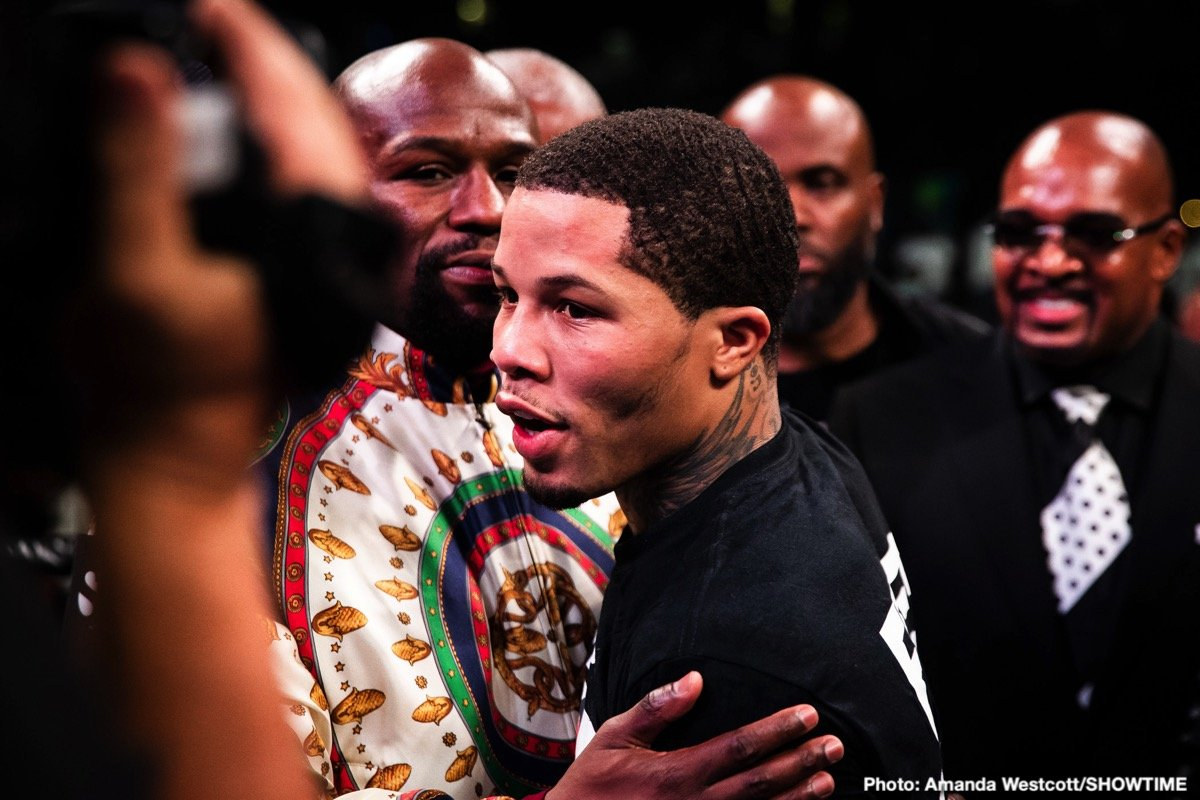 Josh Taylor - Gervonta Davis says he'll be calling his adviser Al Haymon to let him know that he wants to set up a fight against IBF/WBA light welterweight champion Josh Taylor after his next match against Yuriokis Gamboa on December 28. The unbeaten former IBF/WBA super featherweight champion Davis (22-0, 21 KOs) has gone back and forth with Taylor on Monday night after he called him out.