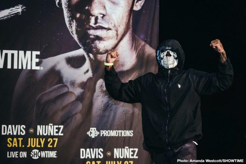 Gervonta Davis Jezreel Corrales Ladarius Miller Ricardo Núñez Roman Martinez Yuriorkis Gamboa Boxing News