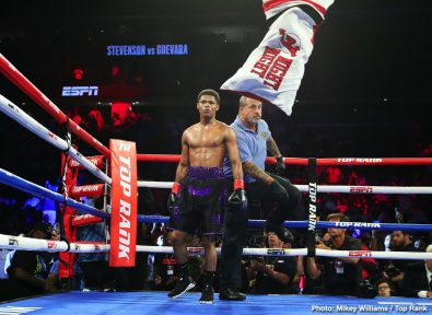Shakur Stevenson Boxing News Boxing Results Top Stories Boxing