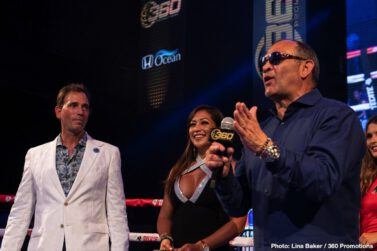 Serhii Bohachuk - Sunday night in Hollywood, Tom Loeffler's 360 Promotions presented an outstanding night of action-packed boxing at the packed AVALON Nightclub headlined by another sensational performance by fast-rising star, undefeated super-welterweight Serhii 'El Flaco' Bohachuk.