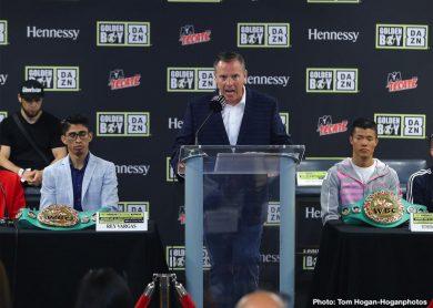 Diego De La Hoya Joet Gonzalez Rey Vargas Ronny Rios Tomoki Kameda Boxing News