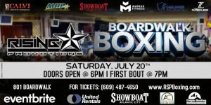 "- World-Ranked junior middleweight contender Thomas ""Cornflake"" LaManna take on Carlos Garcia Hernandez in the eight-round main event on Saturday, July 20th at The brand new Carousel Room inside the Showboat Hotel in Atlantic City."