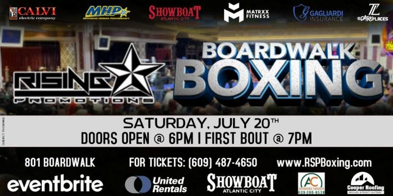 """- World-Ranked junior middleweight contender Thomas """"Cornflake"""" LaManna take on Carlos Garcia Hernandez in the eight-round main event on Saturday, July 20th at The brand new Carousel Room inside the Showboat Hotel in Atlantic City."""