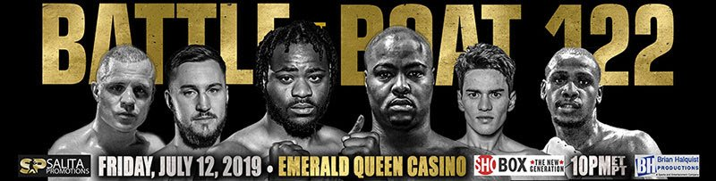 "Tonight on the un-televised undercard of the SHOWTIME televised ""Battle at the Boat 122"" at the Emerald Queen Casino in Tacoma, Washington, cruiserweight contender Constantin Bejenaru (14-0, 4 KOs) got back to business after a year and a half away by pounding out a sixth-round TKO (time 2:02) over Mexican veteran Jose Corral."