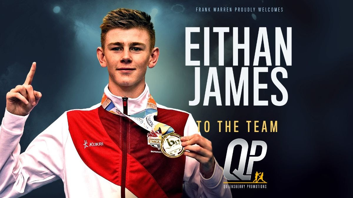 Eithan James - AMATEUR SENSATION Eithan James is set to turn professional and will do so under Frank Warren's Queensberry Promotions banner.
