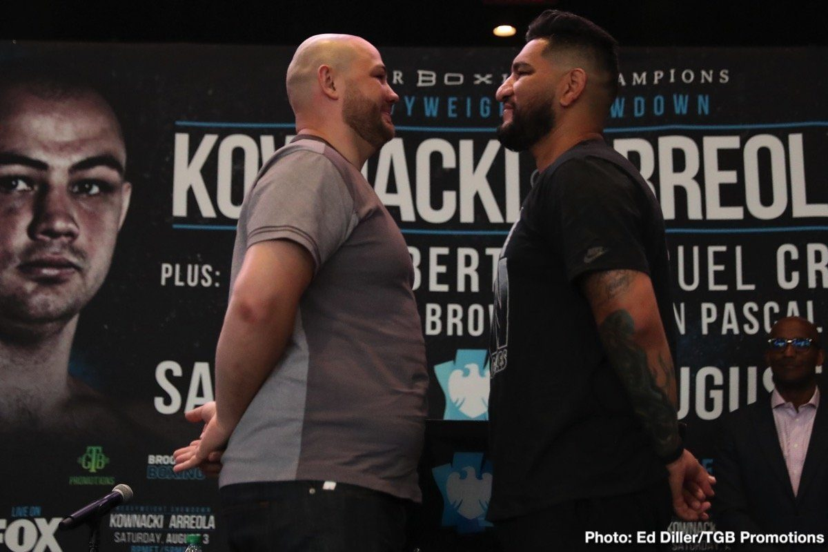 Adam Kownacki Chris Arreola Boxing Interviews Boxing News