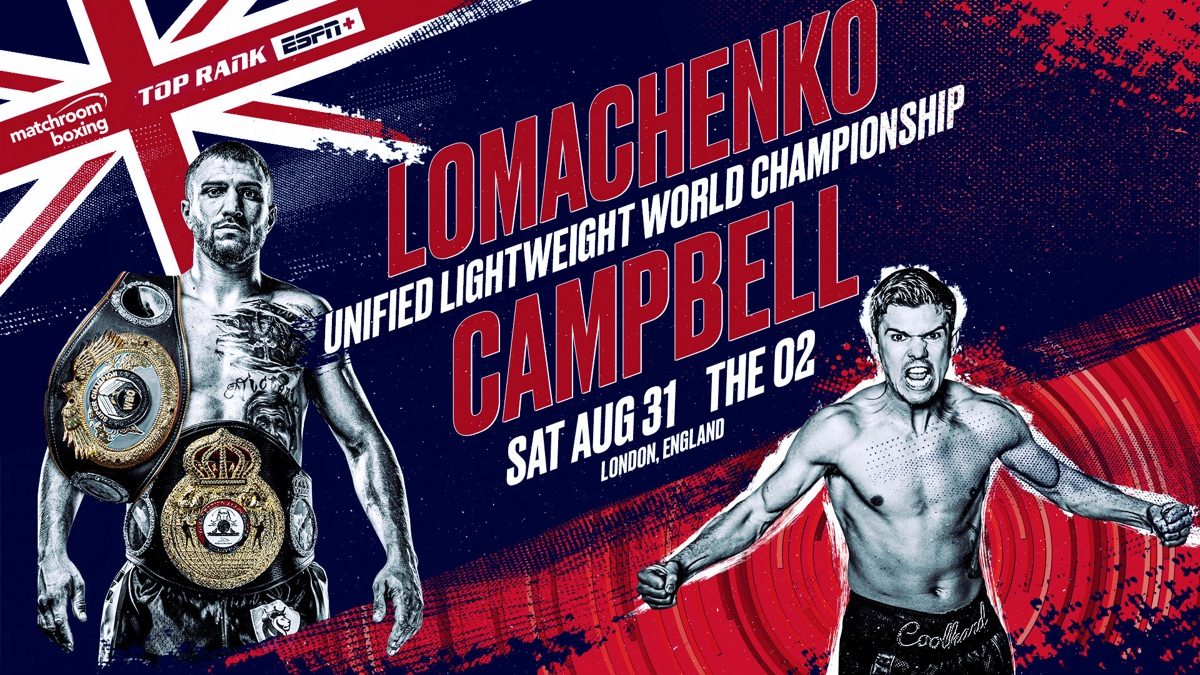 Luke Campbell Vasyl Lomachenko Boxing News Top Stories Boxing