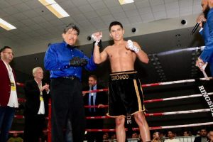 Richard Medina - This past Saturday at a sold-out Floresville Event Center in Floresville, TX, Prince Ranch Boxing's Richard Medina (6-0-1, 5 KOs) and Hector Coronado (3-0, 2 KOs), who are both promoted by TMB & PRB Entertainment, remained undefeated.
