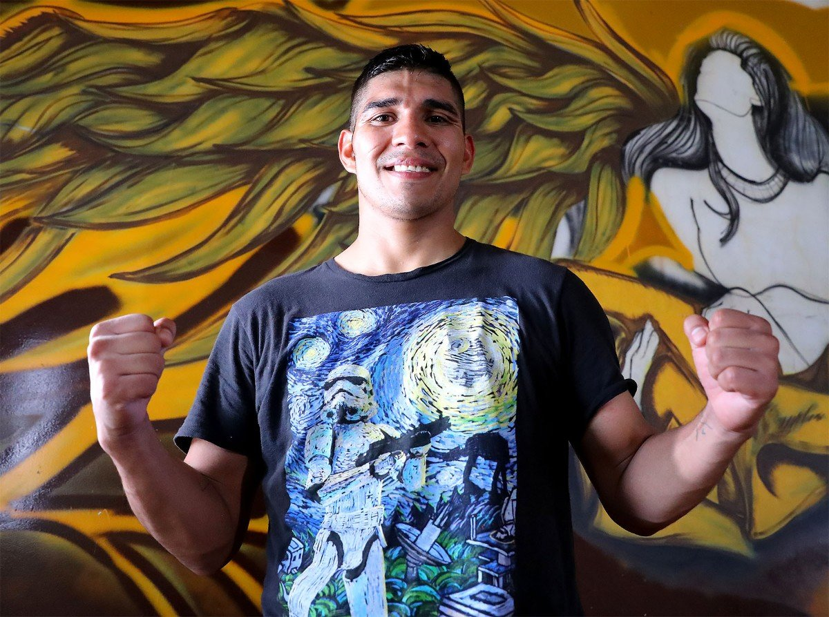 "Antonio ""Relentless"" Orozco, Vergil Ortiz Jr. - Former world title challenger Antonio ""Relentless"" Orozco (28-1, 17 KOs) of San Diego, Calif. discussed the importance of experience as he prepares to invade enemy territory in his 12-round fight against hometown hero Vergil Ortiz Jr. (13-0, 13 KOs) for the WBA Gold Welterweight Title. The event, which features a stacked undercard, will take place on Saturday, Aug. 10 at The Theatre at Grand Prairie in Texas and will be streamed live on DAZN."