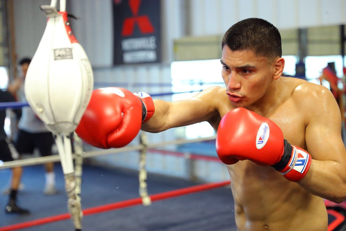 "Antonio ""Relentless"" Orozco, Hector ""El Finito"" Tanajara Jr., Joshua ""The Professor"" Franc, Vergil Ortiz Jr. - Vergil Ortiz Jr. (13-0, 13 KOs), Hector ""El Finito"" Tanajara Jr. (17-0, 5 KOs) and Joshua ""The Professor"" Franco (15-1-1, 7 KOs) discussed training camp under renowned trainer Robert Garcia ahead of their respective fights. All three fighters will return on the Ortiz vs. Orozco card, which takes place Saturday, Aug. 10 at The Theatre at Grand Prairie in Texas and will be streamed live on DAZN."