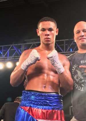 """Victor Padilla - DiBella Entertainment (DBE) has signed top welterweight prospect Victor """"El Turu"""" Padilla (4-0, 4 KOs), of Berlin, New Jersey, to an exclusive promotional agreement. He will make his DBE debut on Thursday night's Broadway Boxing: Night of the Contenders event, live streamed exclusively on UFC FIGHT PASS®, the world's leading digital subscription service for combat sports, beginning at 8:30 p.m. ET/5:30 p.m. PT."""