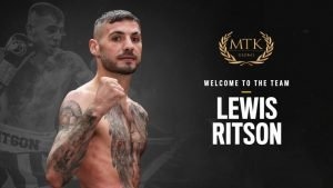 Lewis Ritson - MTK Global is proud to confirm an advisory deal with Newcastle's huge-hitting champion Lewis Ritson.