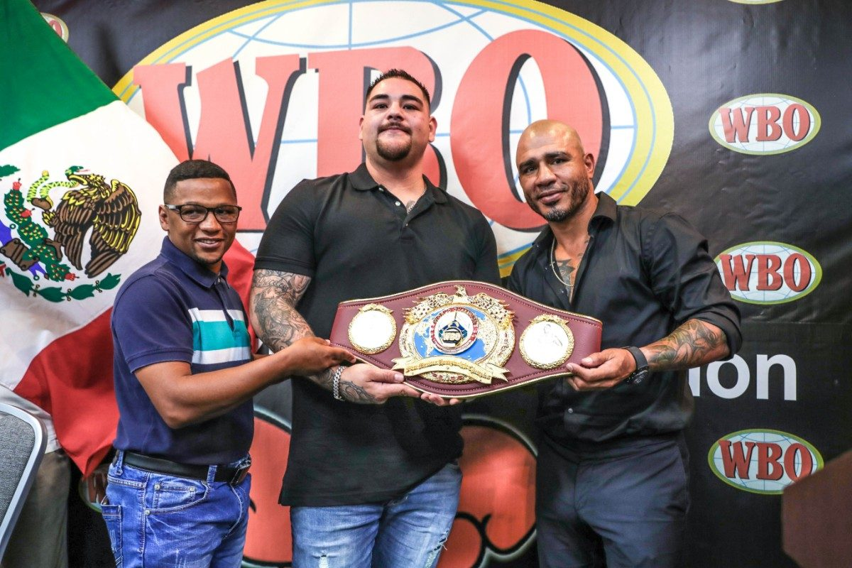 Andy Ruiz Jr Anthony Joshua Boxing News