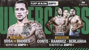 Robeisy Ramirez - Former super featherweight world champion Jason Sosa won't have to travel far for his next assignment. The native of Camden, New Jersey, will make the short drive to Philadelphia to face veteran Haskell Lydell Rhodes in a 10-round super featherweight bout Saturday, Aug. 10 at the Liacouras Center.