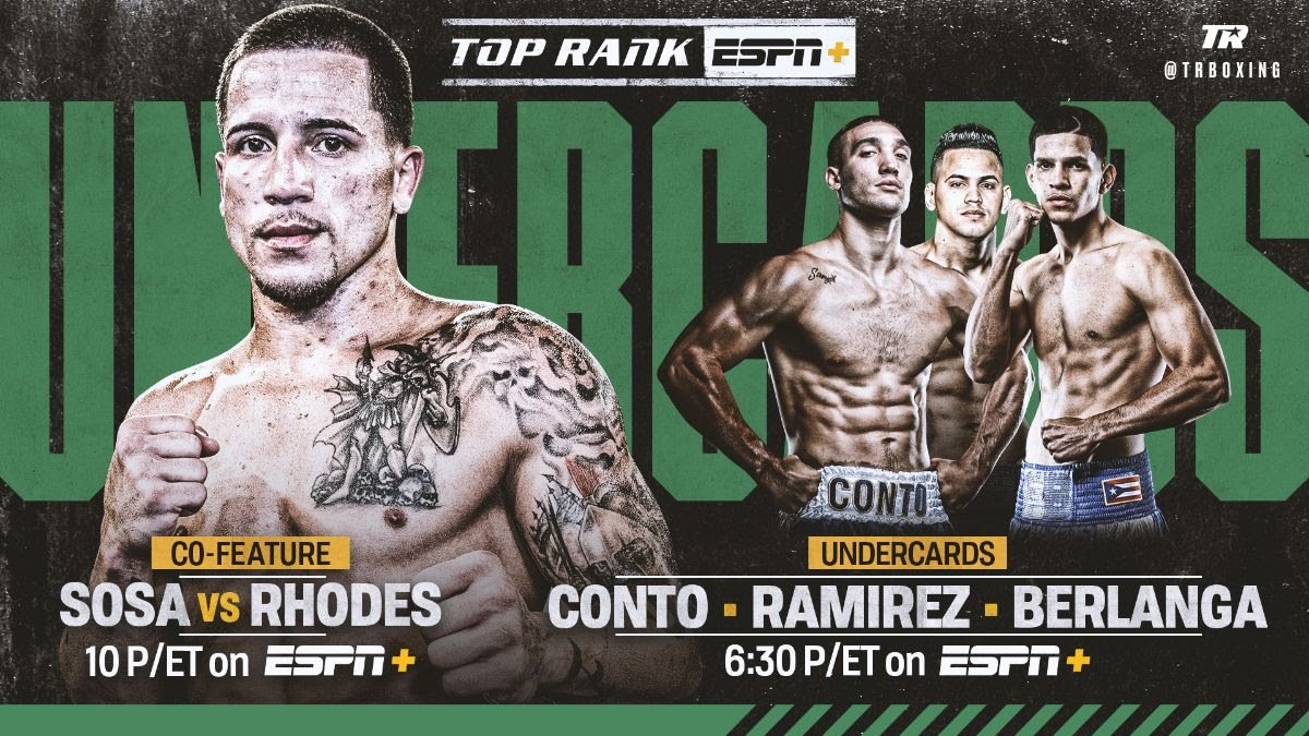 Carl Frampton, Emmanuel Dominguez, Haskell Lydell Rhodes, Jason Sosa, Robeisy Ramirez - Former super featherweight world champion Jason Sosa won't have to travel far for his next assignment. The native of Camden, New Jersey, will make the short drive to Philadelphia to face veteran Haskell Lydell Rhodes in a 10-round super featherweight bout Saturday, Aug. 10 at the Liacouras Center.
