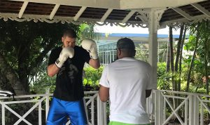 -  Undefeated heavyweight Vladimir Tereshkin is officially set for his debut under the banner of Ronson Frank's Uprising Promotions this Saturday night. The versatile Russian will look to keep his unbeaten record intact when he faces knockout artist Williams Ocando (21-8, 17 KOs) of Venezuela at the Ambassador Theatre in Kingston, Jamaica.