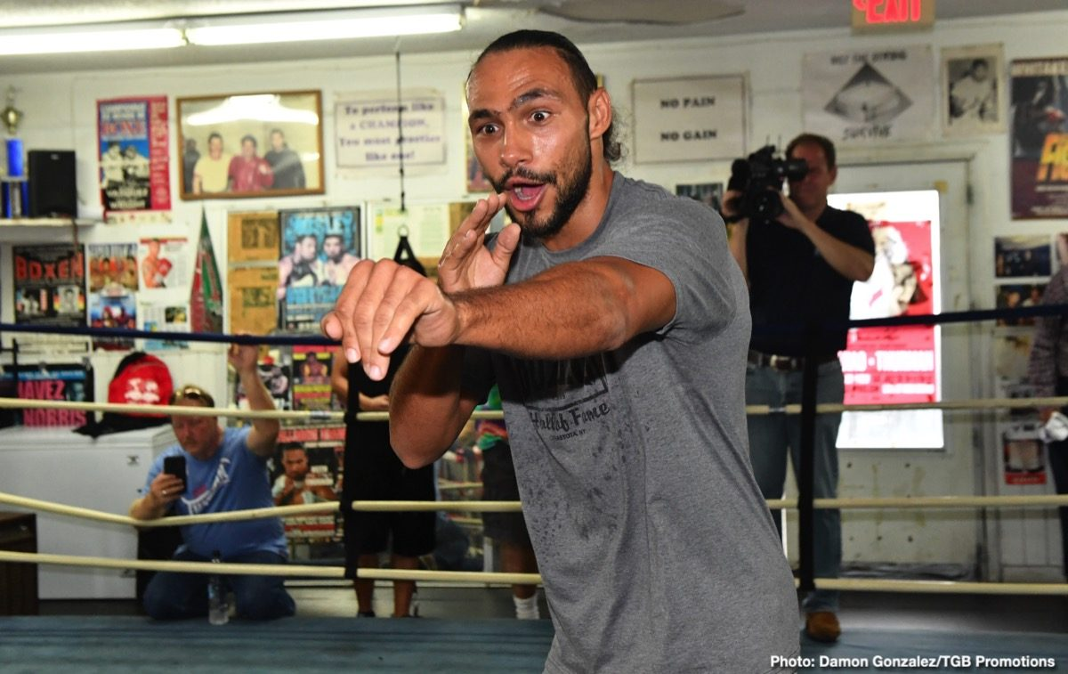 Keith Thurman Manny Pacquiao Boxing Interviews Boxing News