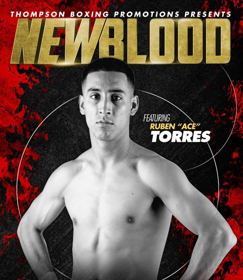 - Rising lightweight Ruben Torres (9-0, 7 KOs) marks a milestone in his young career when he makes his headlining debut against veteran Ruben Tamayo (27-13-4, 18 KOs) one week from today on Friday, July 26, from the Doubletree Hotel in Ontario, Calif.