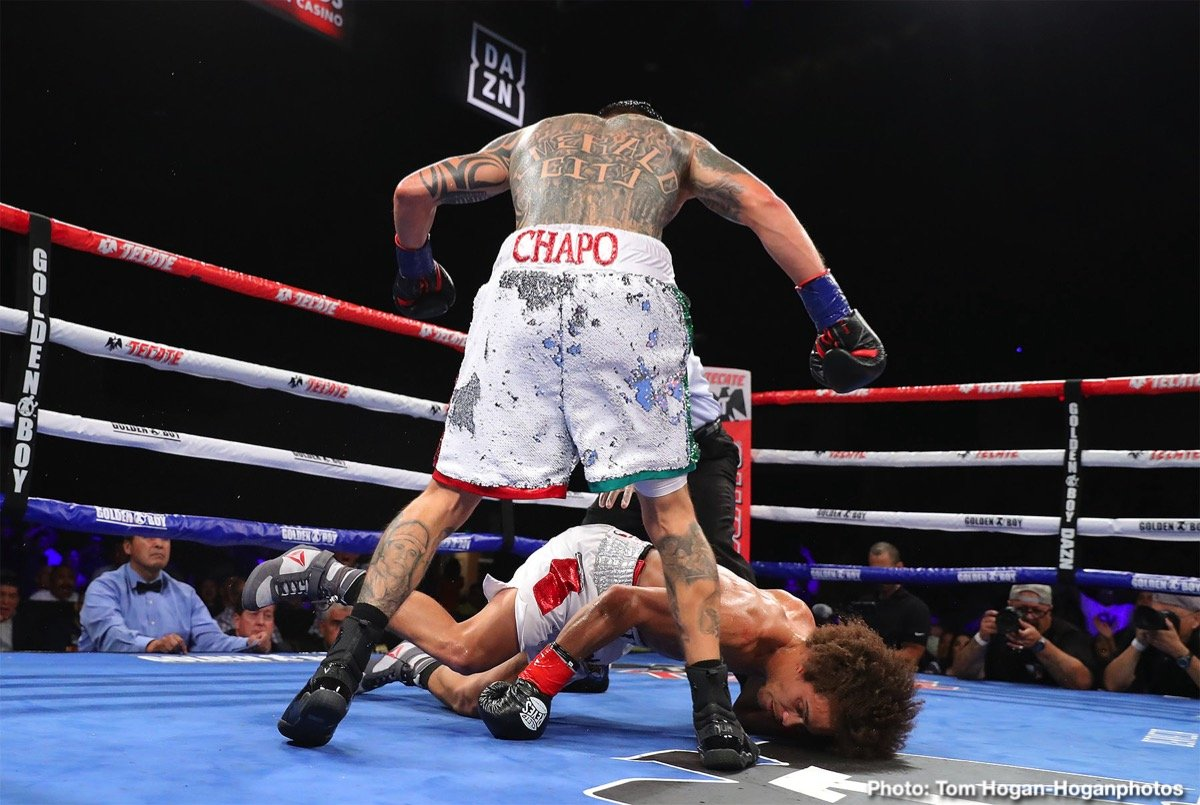 "Undefeated Puerto Rican prospect Luis Feliciano (13-0, 8 KOs) scored a 10-round unanimous decision victory against Genaro ""El Conde"" Gamez (9-1, 6 KOs) to capture the NABF Super Lightweight Title in the main event of the Aug. 22 edition Golden Boy DAZN Thursday Night Fights at Fantasy Springs Resort Casino in Indio, Calif. The fights were streamed live on RingTV.com and on Facebook Watch via the Golden Boy Fight Night Page. The series is also available on regional sports networks around the nation."