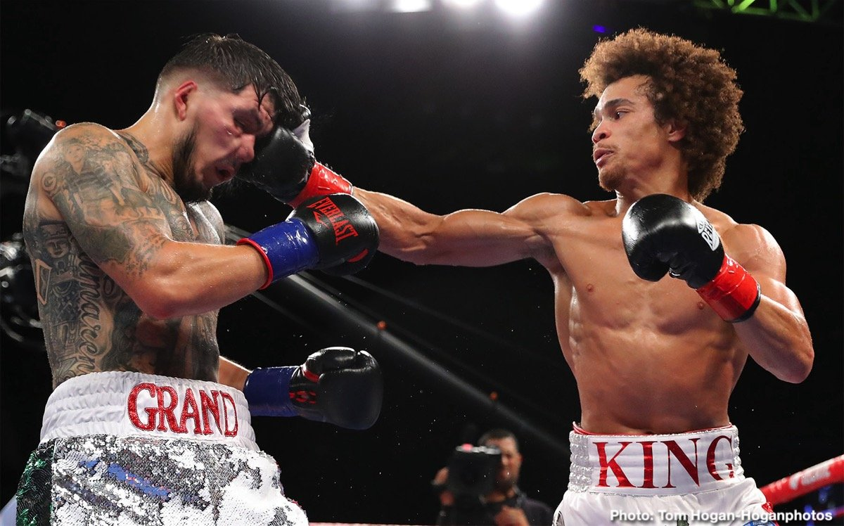 "Unbeaten welterweight, Blair ""The Flair"" Cobbs (12-0-1, 8 KOs), who is managed by Prince Ranch Boxing's Greg Hannley and promoted by Golden Boy Promotions, has his sights set on stealing the show when he faces Carlos Ortiz (11-4, 11 KOs) on the undercard of Canelo Alvarez versus Sergey Kovalev ,November 2, 2019, at the MGM Grand Garden Arena in Las Vegas, NV.  Cobbs vs. Ortiz will be a 10-round bout for the NABF welterweight title, and all the action will air live on DAZN.  Live coverage of main card begins at 9 p.m. ET/6 p.m. PT."