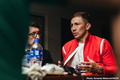 Gennady Golovkin Sergey Derevyanchenko Boxing News Top Stories Boxing