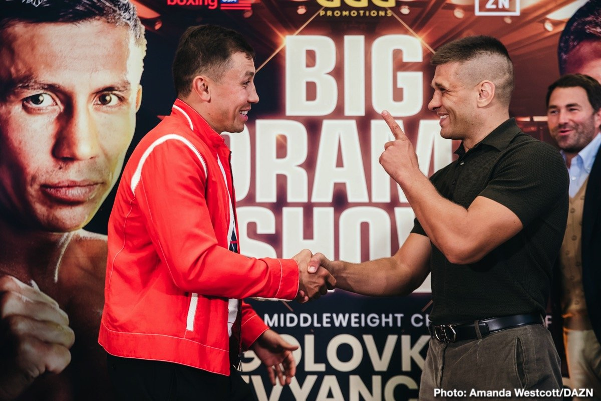 Sergey Derevyanchenko - Gennadiy 'GGG' Golovkin believes his clash with Sergiy Derevyanchenko will be a classic when they meet for the vacant IBF World Middleweight title on Saturday October 5 at Madison Square Garden in New York, live on DAZN.