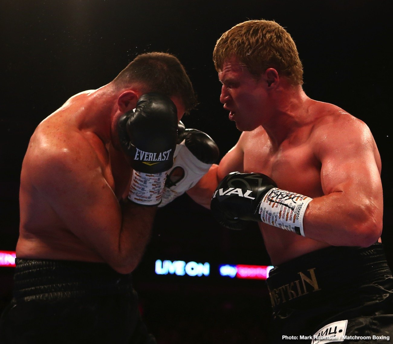 Alexander Povetkin - Following his dominant 12-round decision this past Saturday over heavyweight contender Hughie Fury, Alexander Povetkin has set his sights on another family member,