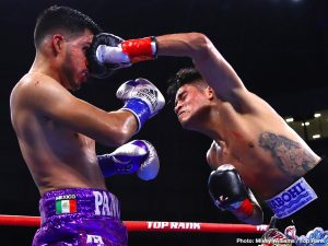 "Jessie Magdaleno - Emanuel Navarrete was already a champion. He is now one of the sport's elite. Navarrete knocked out the previously unbeaten Francisco ""Panchito"" De Vaca in three rounds Saturday evening in front of 3,944 fans in the first-ever boxing card at Banc of California Stadium."