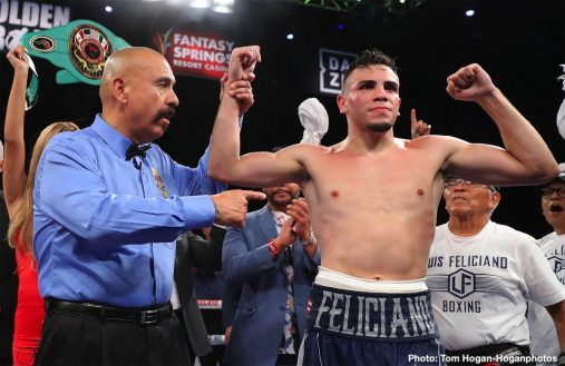Blair Cobbs Luis Feliciano Boxing News Boxing Results